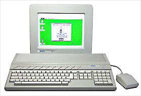 Atariの1040STコンピュータ